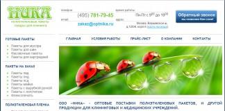 SEO фудит сайта Optnika
